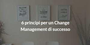 change management di successo